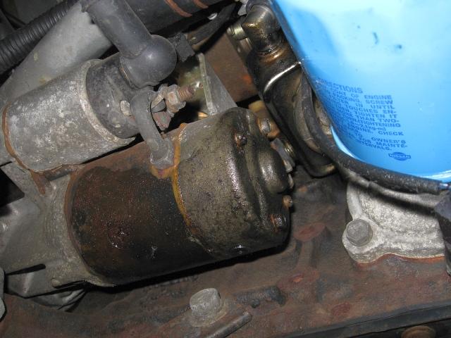 NISSAN Sunny N13 Diesel LX : Anlasser CD17-Motor - 29.07.2012