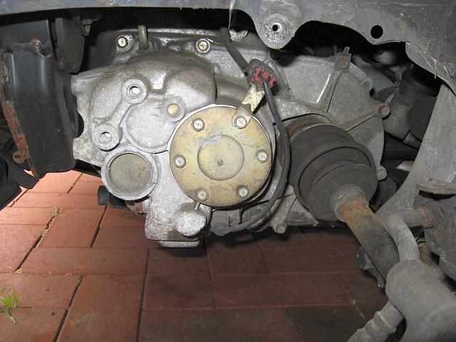 NISSAN Sunny N13 Diesel LX : Getriebe - 01.08.2012