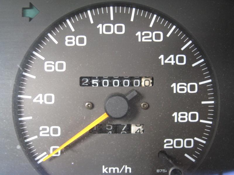 NISSAN Sunny N13 Diesel LX : Zweihundertfünfzigtausendkilometer! - 21.06.2014