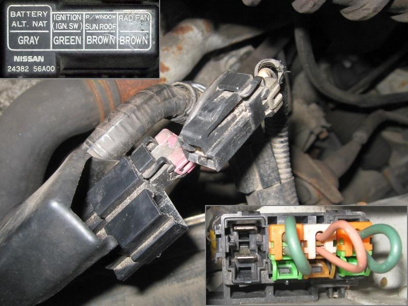 NISSAN Sunny N13 Diesel LX : Bat.-Anschluß und Sicherung LiMa - 24.04.2015