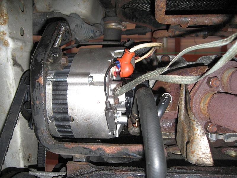 NISSAN Sunny N13 Diesel LX : Austausch-Lichtmaschine - 31.05.2015