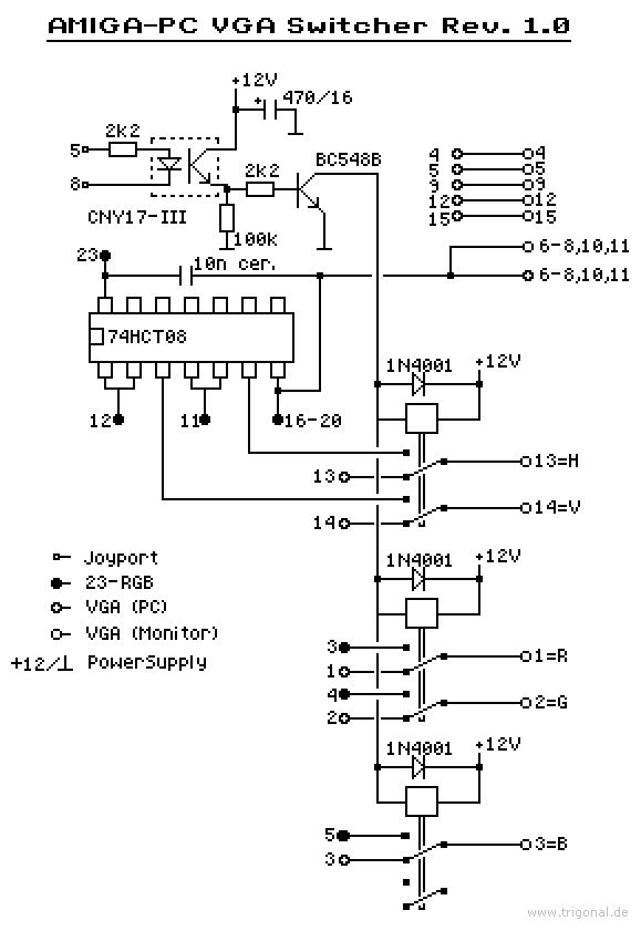 Ziemlich Vga Stecker Schaltplan Bilder - Elektrische Schaltplan ...